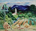 'Paysage de Provence', oil on canvas painting by Moïse Kisling, c. 1919.jpg