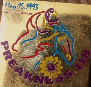 1993 Preakness Stakes - Image: 1993 Preakness Logo