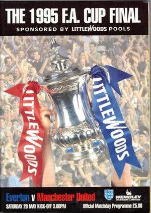 1995 FA Cup Final - Image: 1995 FA Cup Final programme
