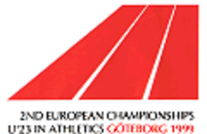 1999 European Athletics U23 Championships - Image: 1999 European Athletics U23 Championships logo