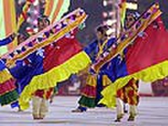 2003 Southeast Asian Games - Cultural presentation of the Philippines, host of the 2005 edition.