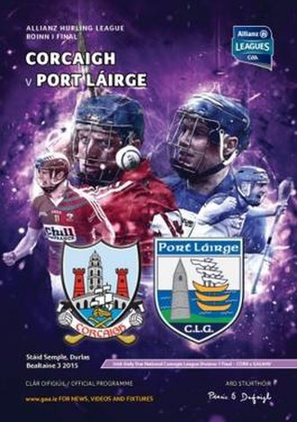 2015 National Hurling League - Image: 2015 National Hurling League final p