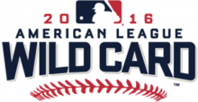 Американская лига Wild Card Game 2016 logo.png