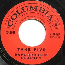 "45 label for ""Take Five"".jpg"