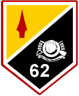 62 Reserve Cavalry Squadron - Unit Flash of the 62nd Res. Cav. Sqn.