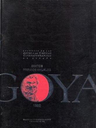 6th Goya Awards - Image: 6th Goya Awards logo