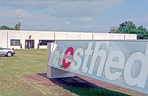 Aesthedes - Image: Aesthedes facility in Belgium, mid 1980s