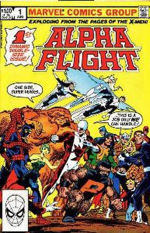 Alpha Flight (comic book) - Image: Alphaflight 1