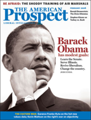 The American Prospect - The American Prospect, cover dated February 1, 2006