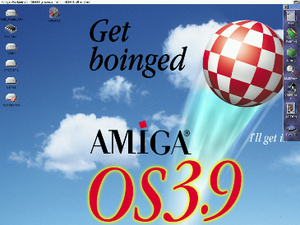 Workbench (AmigaOS) - Amiga Workbench 3.9, (2000).