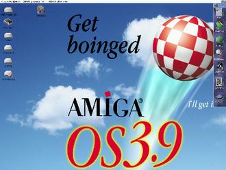 Workbench (AmigaOS) - Amiga Workbench 3.9, (2000).