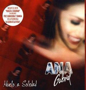 Huelo a soledad - Image: Anahuelo