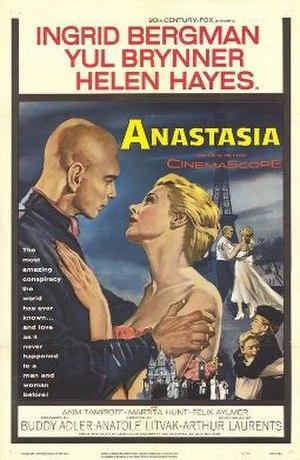 Anastasia (1956 film) - Theatrical release poster