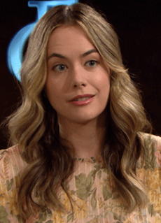 Hope Logan Fictional character from The Bold and the Beautiful