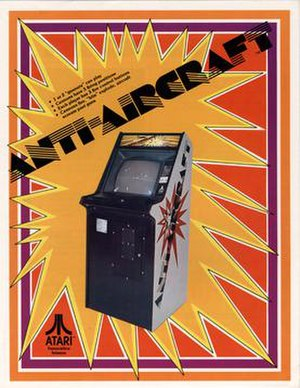 Anti-Aircraft (video game) - Image: Anti Aircraft 1975 arcade flyer