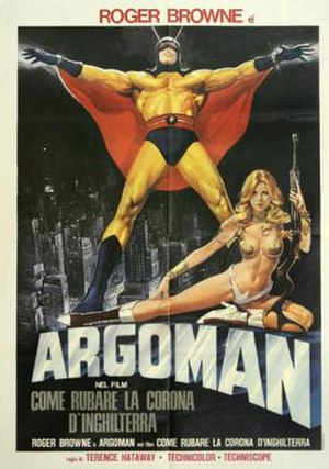 Argoman the Fantastic Superman - US theatrical release poster