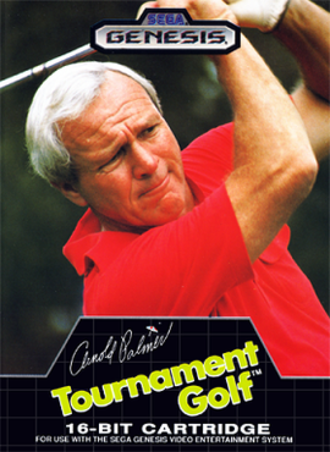 Arnold Palmer Tournament Golf - North American cover art