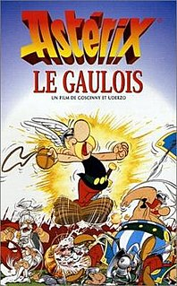 <i>Asterix the Gaul</i> (film) 1967 Belgian/French animated film directed by Ray Goossens