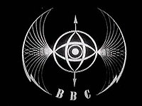 BBC logo between 1932 and 1958