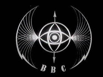 "BBC Television - The ""Television Symbol"", known informally as the ""Bats Wings"" was the first BBC Television Service ident. It was created by Abram Games and was used from 1953 to 1961."