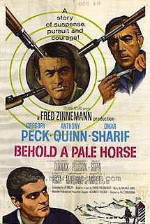 <i>Behold a Pale Horse</i> (film) 1964 film by Fred Zinnemann