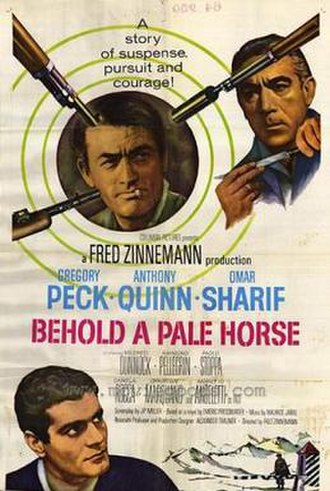 Behold a Pale Horse (film) - Original theatrical poster