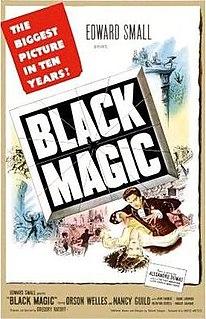 <i>Black Magic</i> (1949 film) 1949 film starring Orson Welles