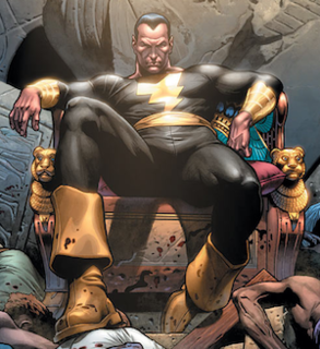 Black Adam supervillain appearing in DC Comics publications and related media