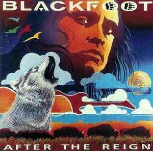 After the Reign (album) - Image: Blackfgoot after the reign