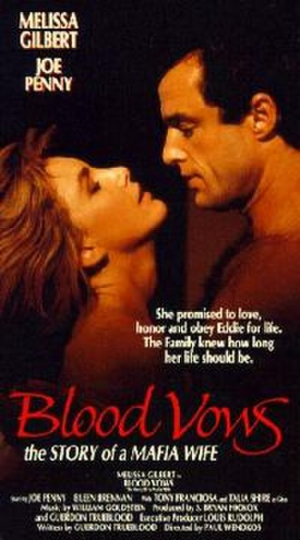 Blood Vows: The Story of a Mafia Wife - VHS cover