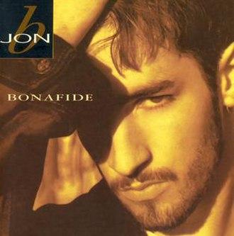 Bonafide (Jon B. album) - Image: Bonafide UK album