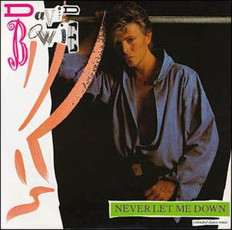 Never Let Me Down (David Bowie song) - Image: Bowie Never Let Me Down Single