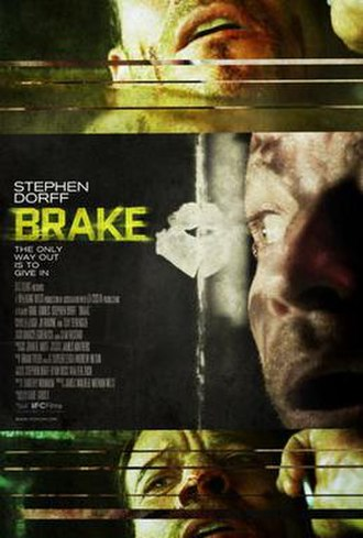 Brake (film) - Theatrical release poster