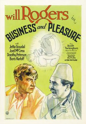 Business and Pleasure - Film poster