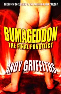 <i>Bumageddon: The Final Pongflict</i> Novel by Andy Griffiths