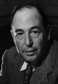Monochrome head-and-left-shoulder photo portrait of 50-year-old Lewis