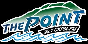 CKPM-FM - Image: CKPM The Point 98.7 logo