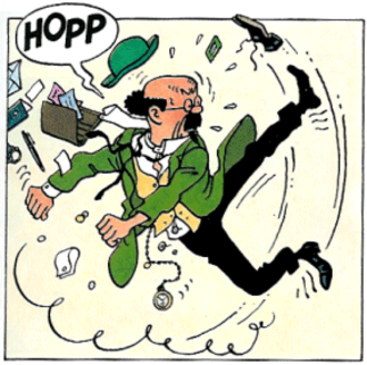 Professor Calculus - Calculus learned savate at university, but is somewhat out of practice in middle-age