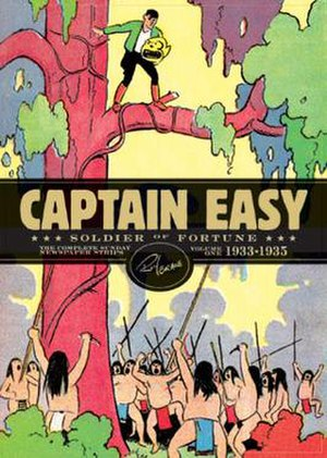 Captain Easy - Captain Easy: Soldier of Fortune, Volume One (Fantagraphics, 2010)