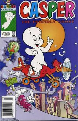 Casper the Friendly Ghost issue No.1 (March, 1991).jpg
