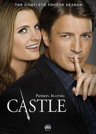 Castle (season 4) - DVD cover