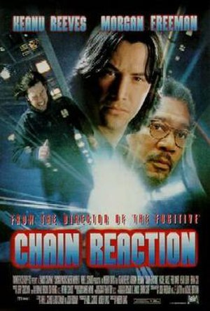 Chain Reaction (1996 film) - Theatrical release poster