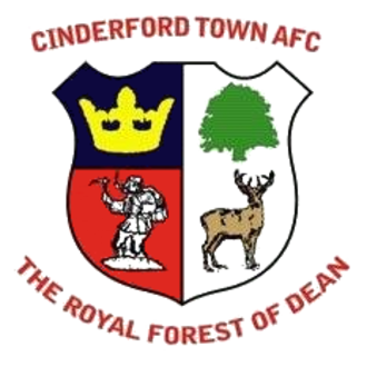 Cinderford Town A.F.C. - Image: Cinderford Town A.F.C. logo