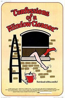 <i>Confessions of a Window Cleaner</i> 1974 film by Val Guest
