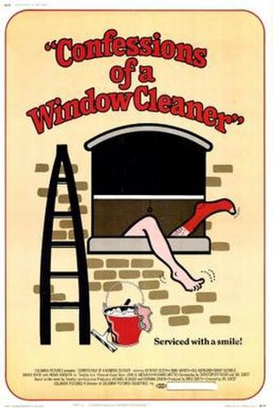 Confessions of a Window Cleaner - Theatrical release poster