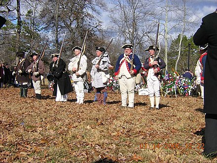 Battle of Cowpens Reenactment, 225th anniversary, January 14, 2006