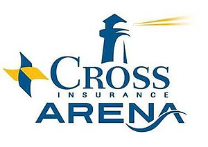 Cross Insurance Arena - Image: Cross Insurance Arena Portland logo