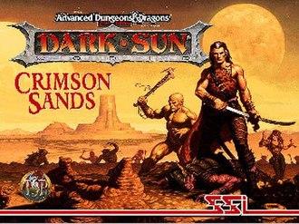 Dark Sun Online: Crimson Sands - Cover art