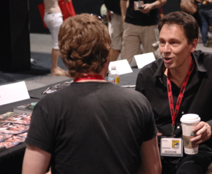 David Hine - Hine at SDCC 2009