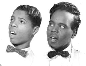 The Top Notes - Derek Martin and Howard Guyton, while members of The Pearls (1956)